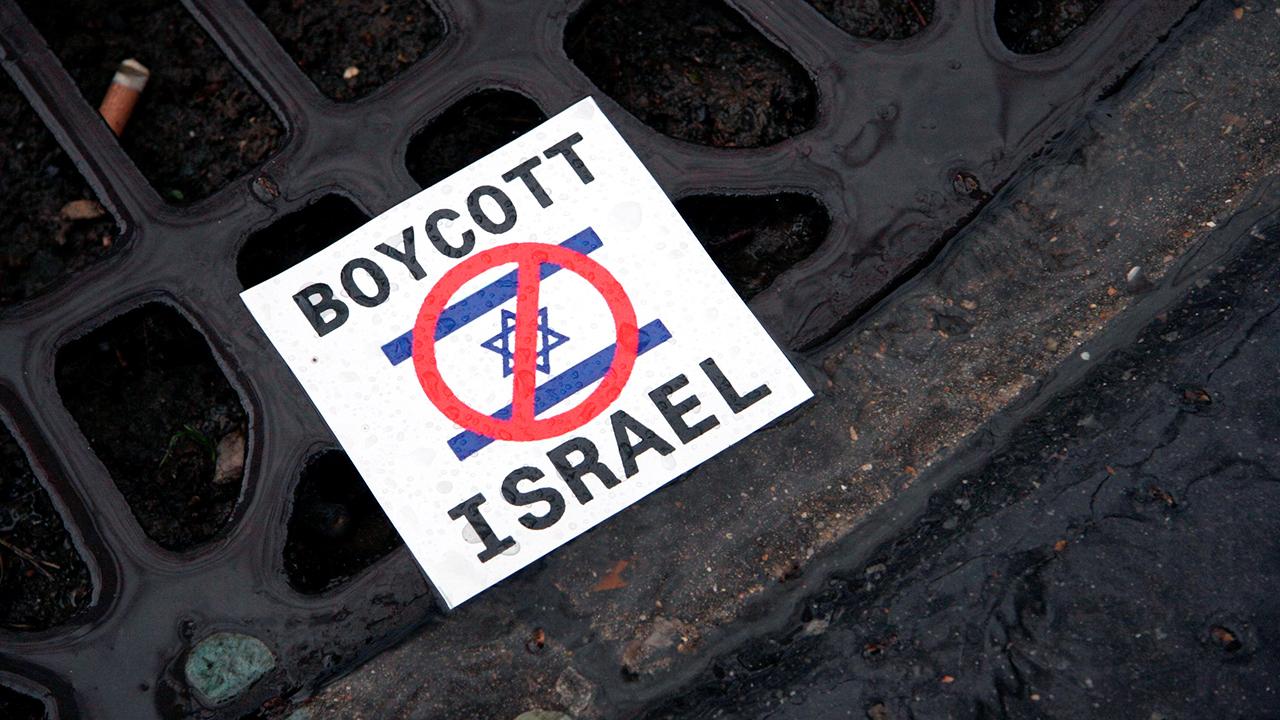 Flyer ruft zu Boykott von Israel auf