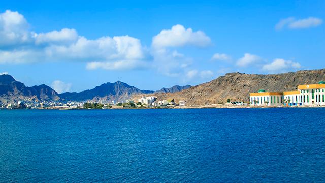 Hafenstadt Aden in Jemen