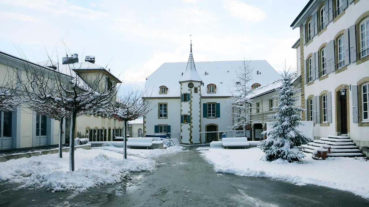 Kommunität Don Camillo in Montmirail im Winter