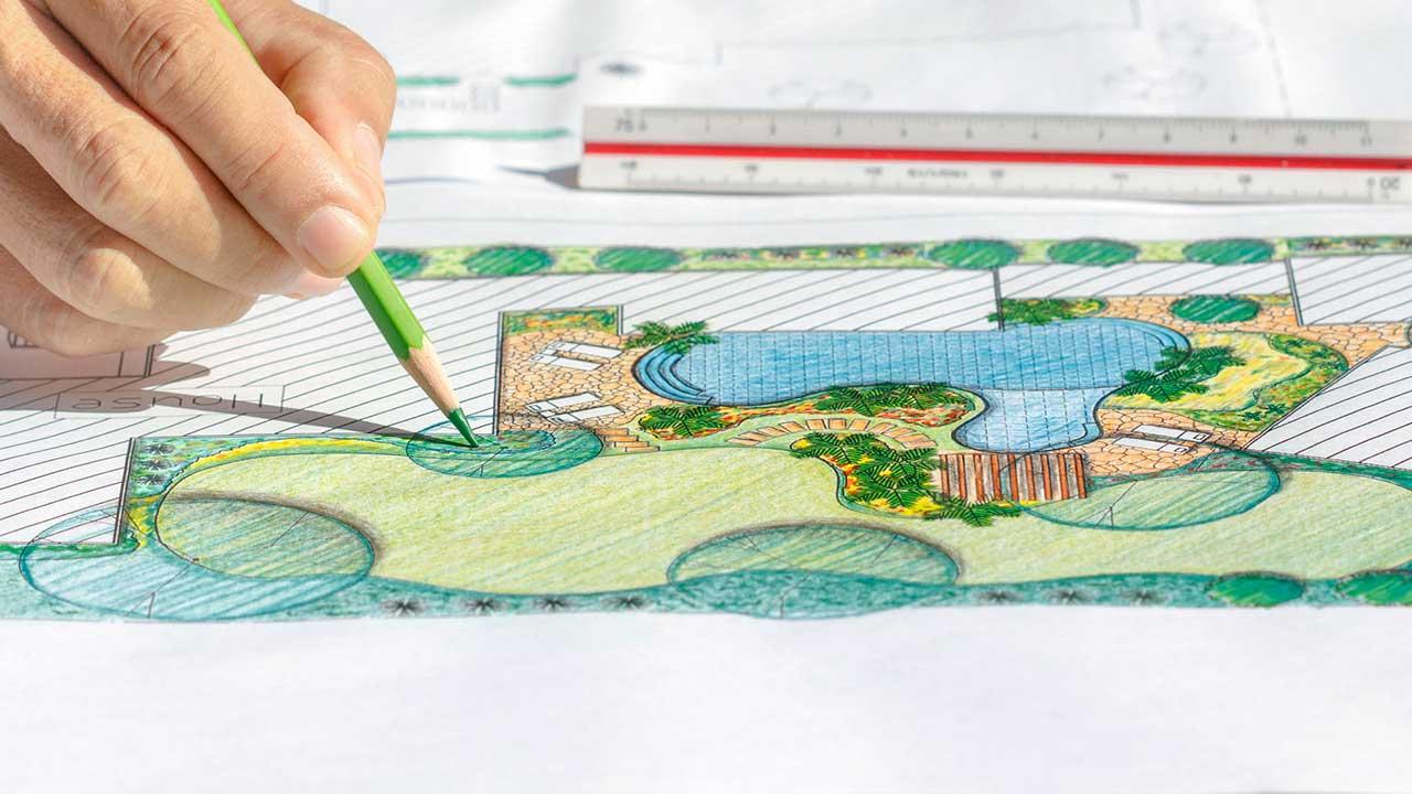 Planen des Gartens (c) 123rf