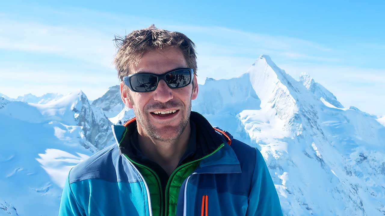 Simon Leemann in den Walliser Alpen | (c) privat