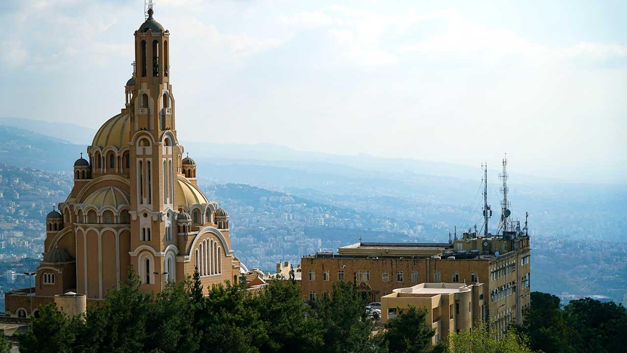Basilika Sankt Paul in Harissa, Libanon