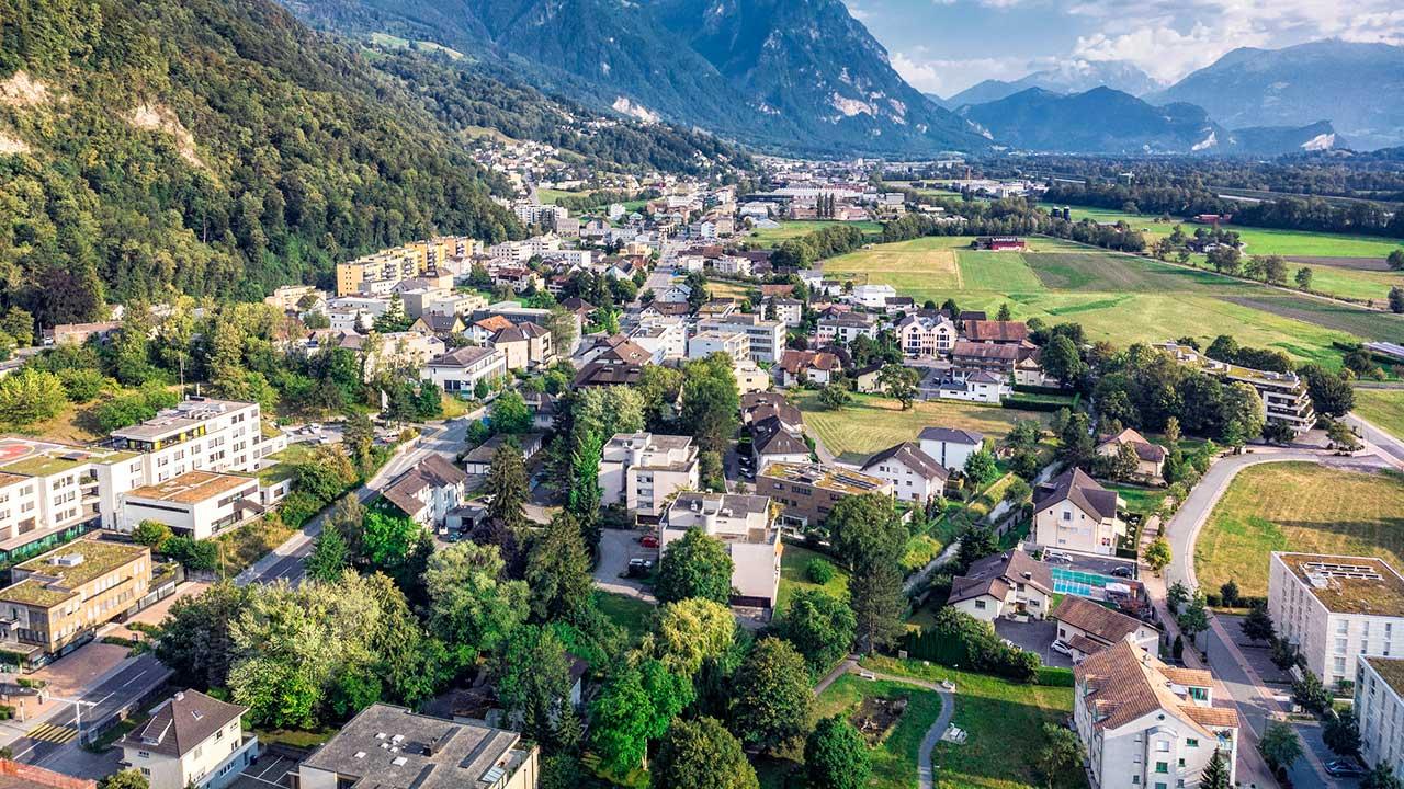Vaduz, Hauptstadt Liechtensteins
