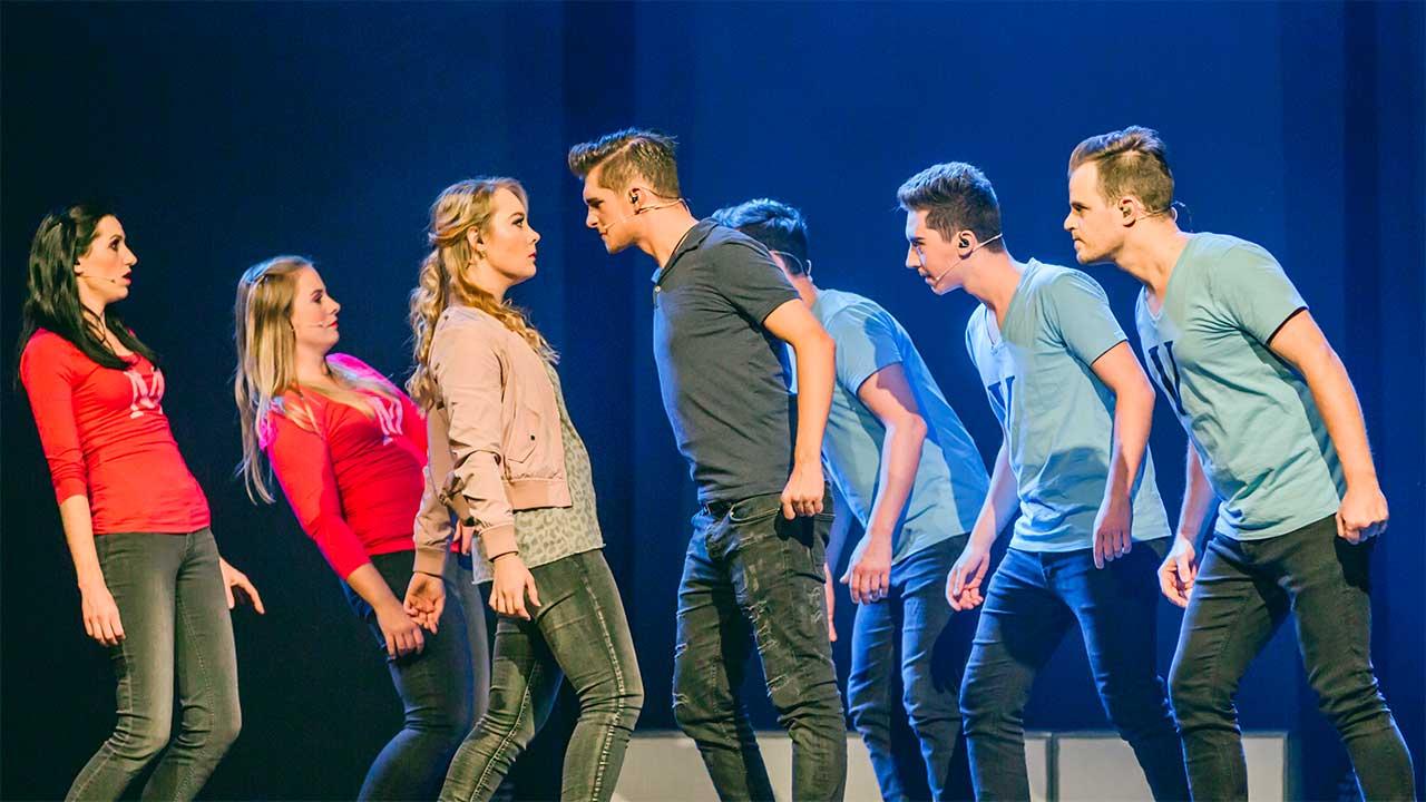 Szene aus einem der drei Musicals von «Life on Stage» | (c) Netzwerk Schweiz