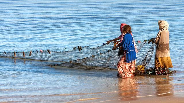 Fischerinnen in Madagaskar