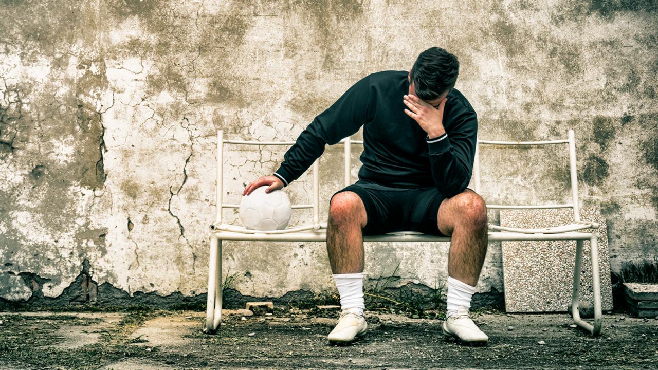 Sportliches Versagen