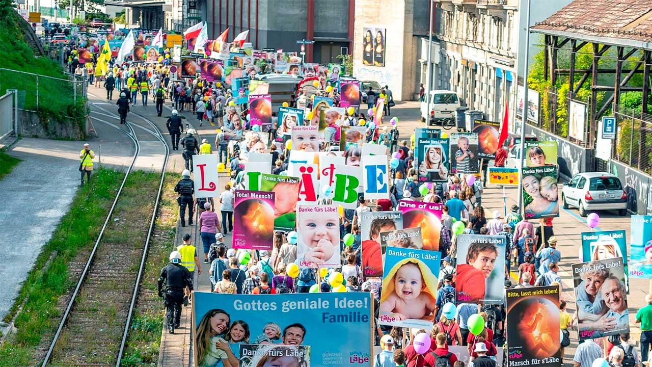 Marsch fürs Läbe durch Zürich