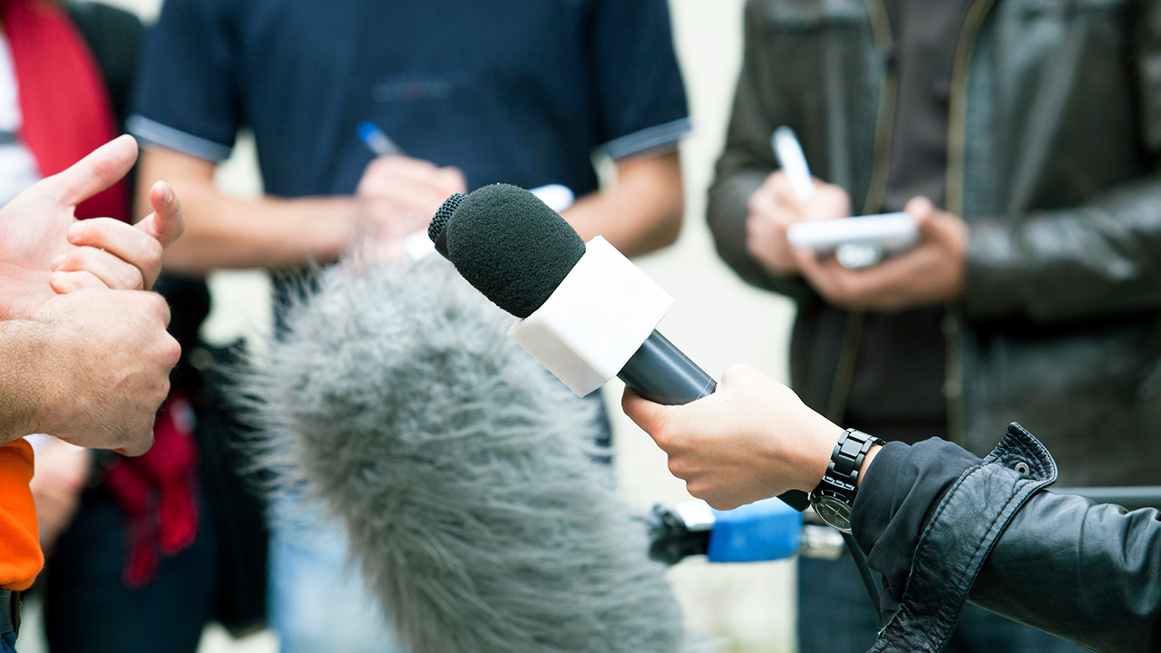 Medien Konferenz