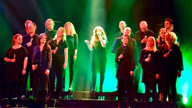 Messias Pop Oratorium mit dem Oslo Gospel Choir