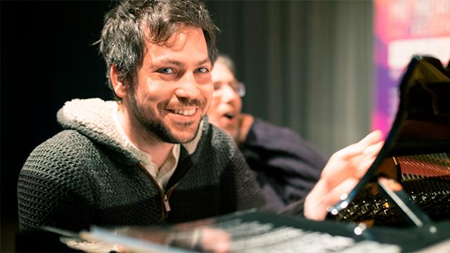 Pianist Benedek Horváth