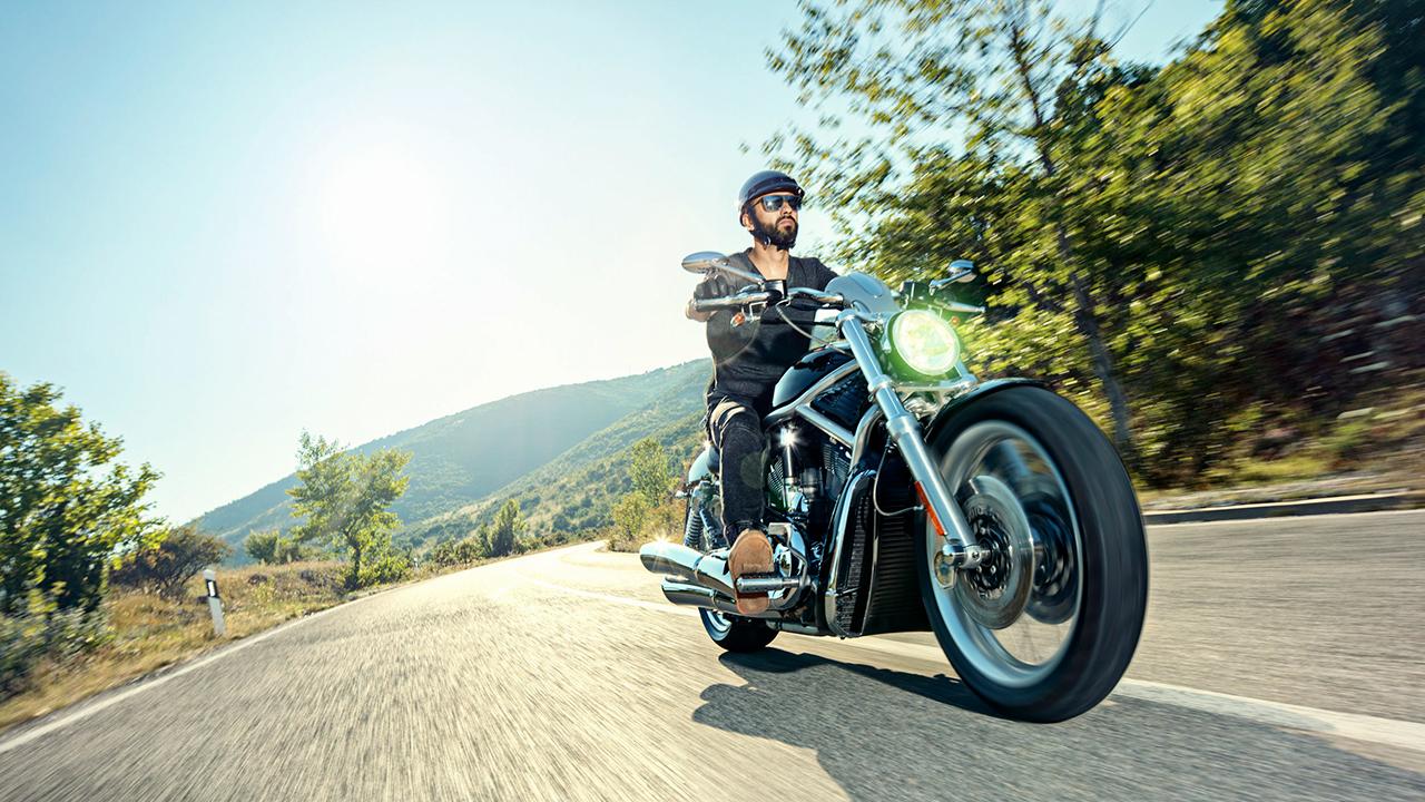 Freiheit auf dem Motorrad
