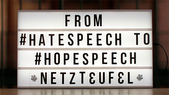 Von «Hatespeech» zu «Hopespeech» (c) Evangelische Akademie zu Berlin