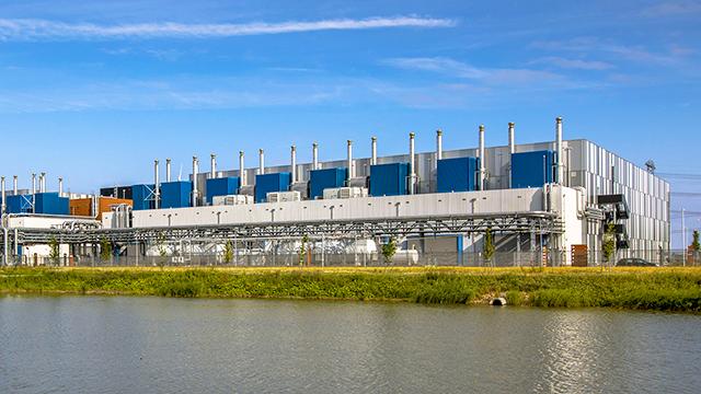 Datencenter von Google in der Niederlande
