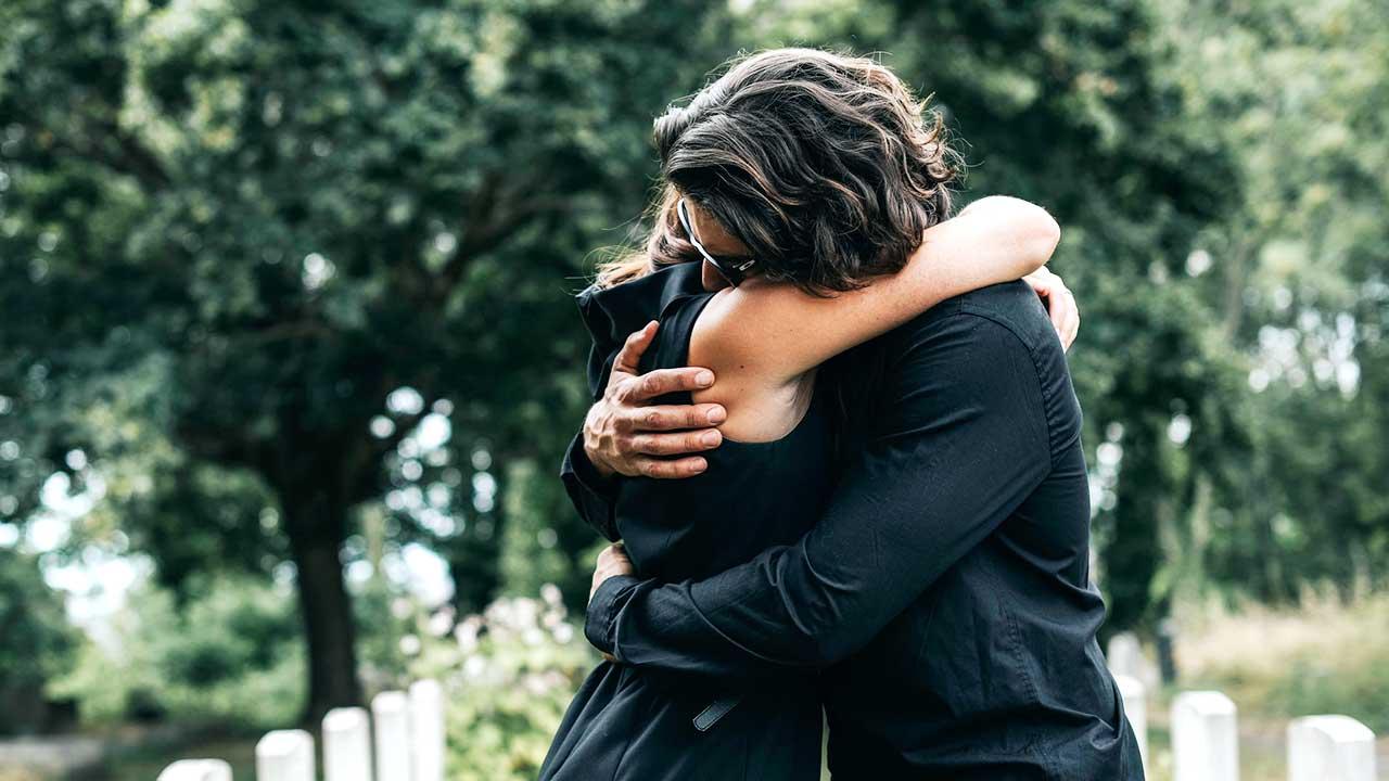 Ein Paar in Trauer | (c) 123rf