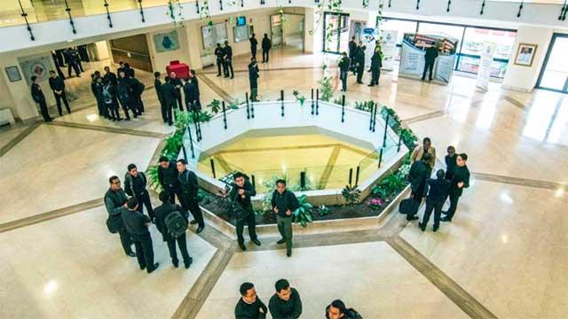 Im Lichthof des Atheneums | (c) www.upra.org