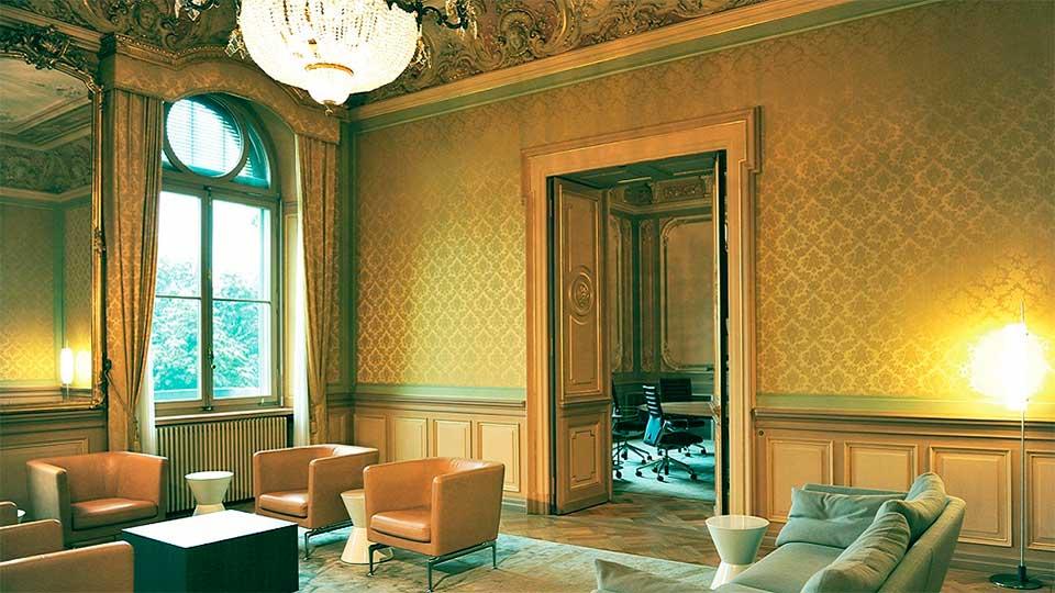 «Salon du President», eines der Zimmer des Bundesrats | (c) Portal der Schweizer Regierung
