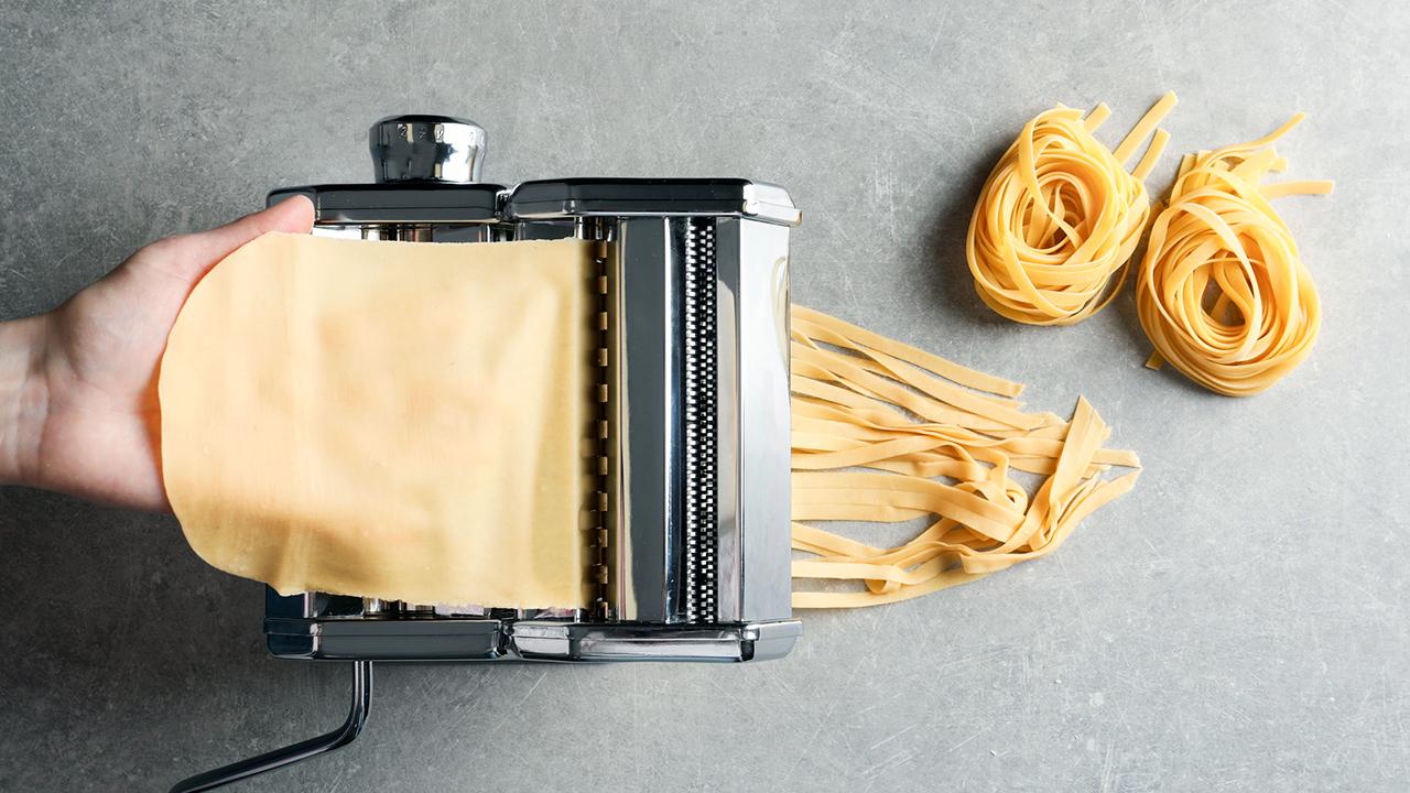 Wird wohl nicht täglich verwendet: beispielsweise Pastamaschine