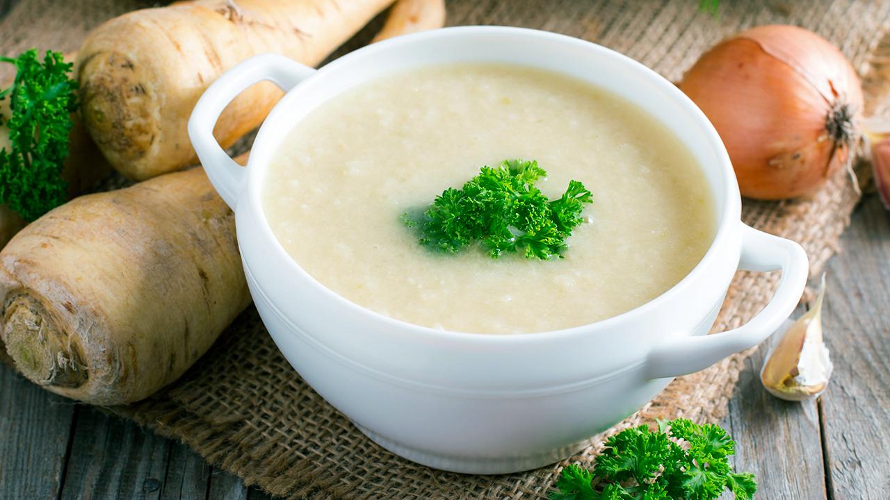 Pastinakencreme-Suppe