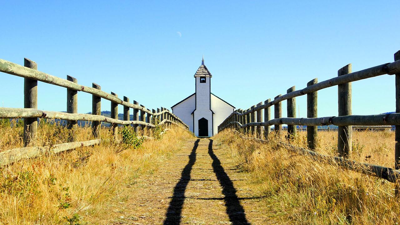 Weg zur Kirche   (c) 123rf