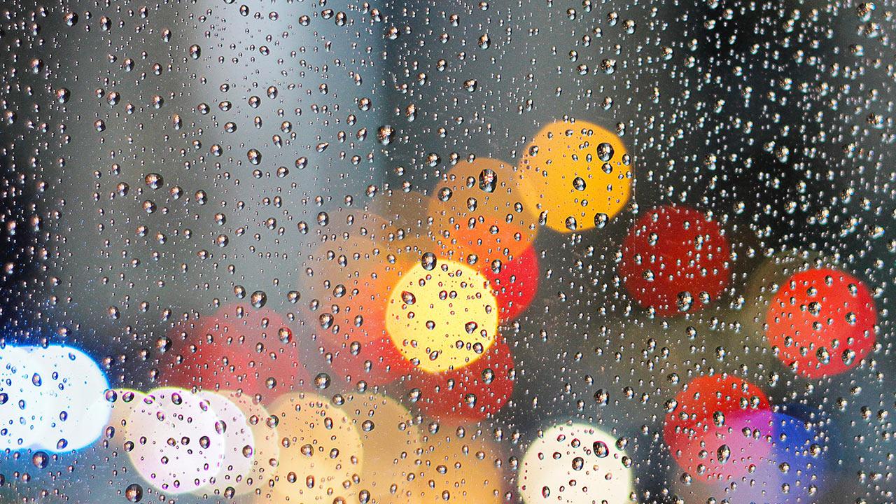 Regen kann einen Regenbogen herzaubern
