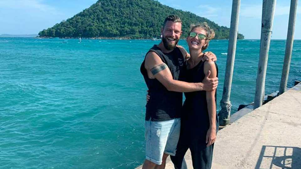 Leo und Nadja Reuter in Thailand