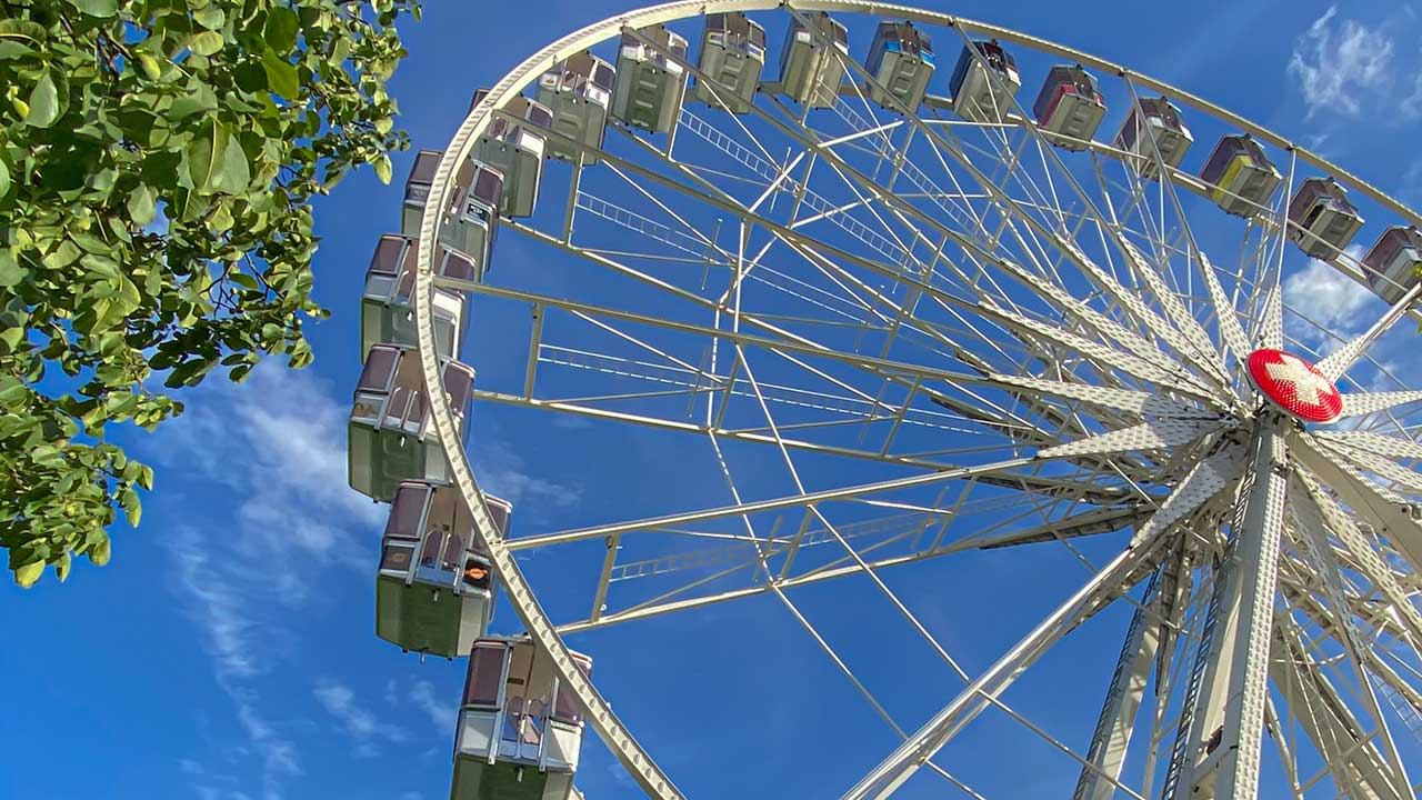 Riesenrad in Interlaken