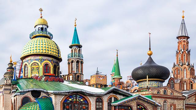«Tempel aller Religionen» in Kasan, Russland