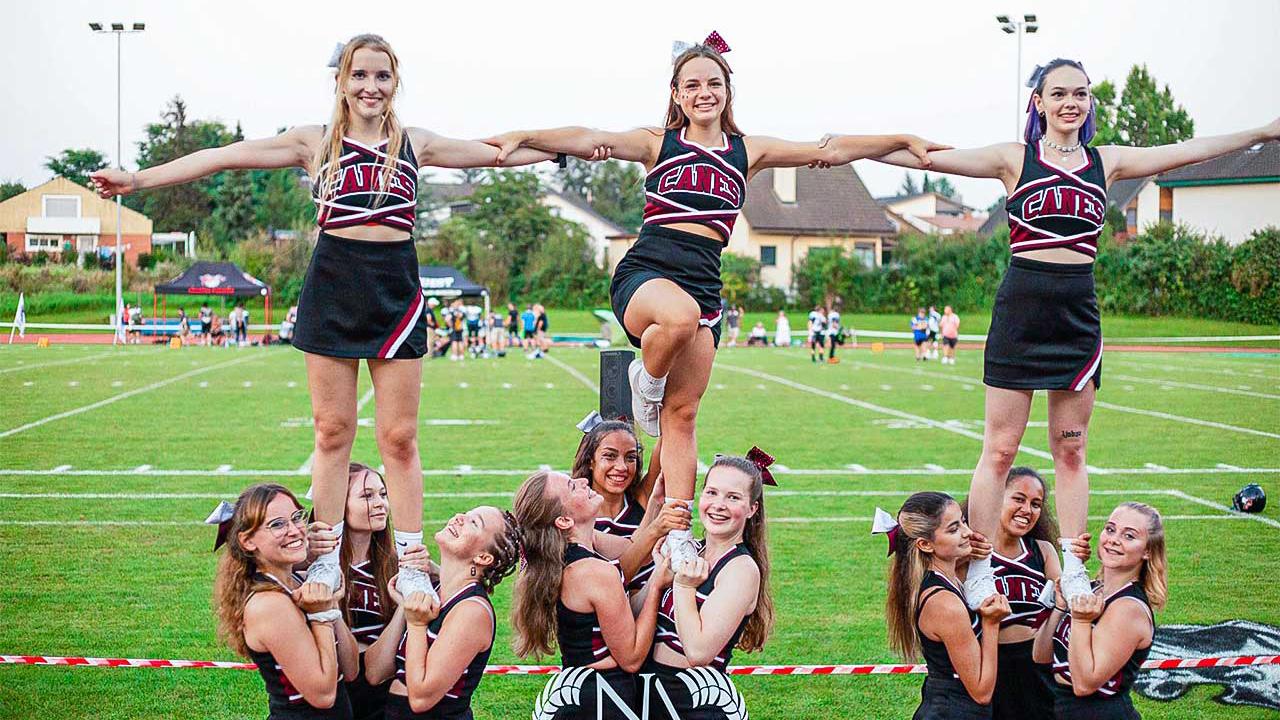 Cheerleader-Gruppe