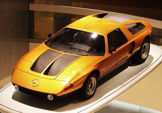 Mercedes Benz in Museum