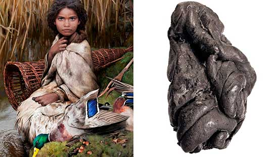 Steinzeitkaugummi