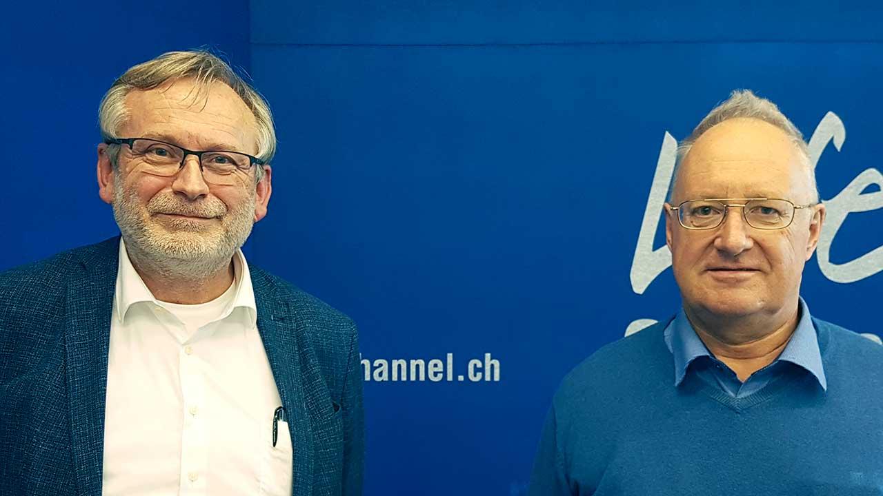 Christof Sigrist und Ulrich Knöpfel