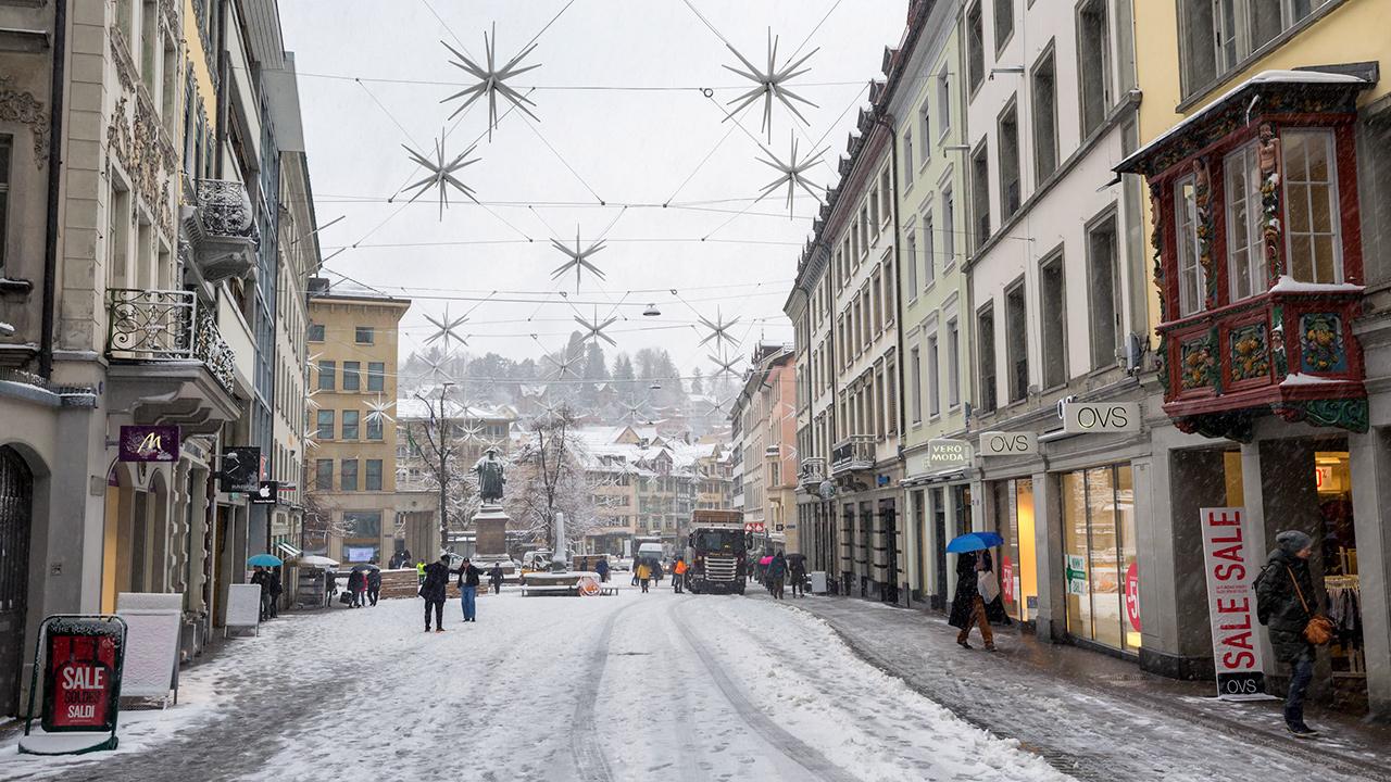 St. Gallen im Dezember 2017