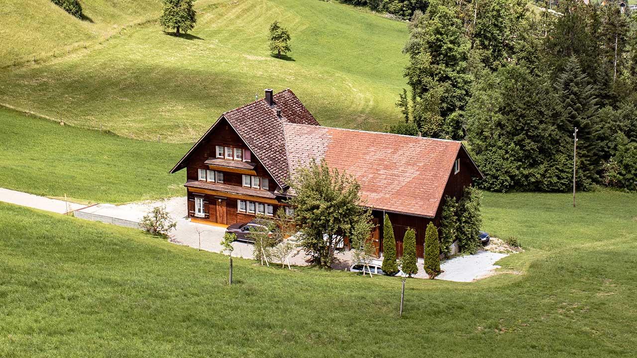Bauernhaus in Mogelsberg SG