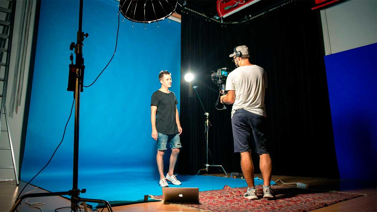 Foto-Shooting im Studio21 | (c) Studio21