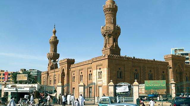 Faruq-Moschee in Khartum, Sudan (c) 123rf