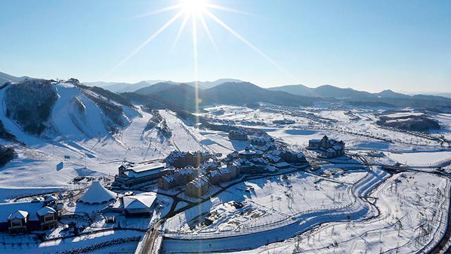 Pyeongchang im Winter