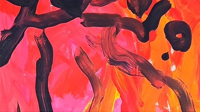 Ausschnitt aus einem Gemälde