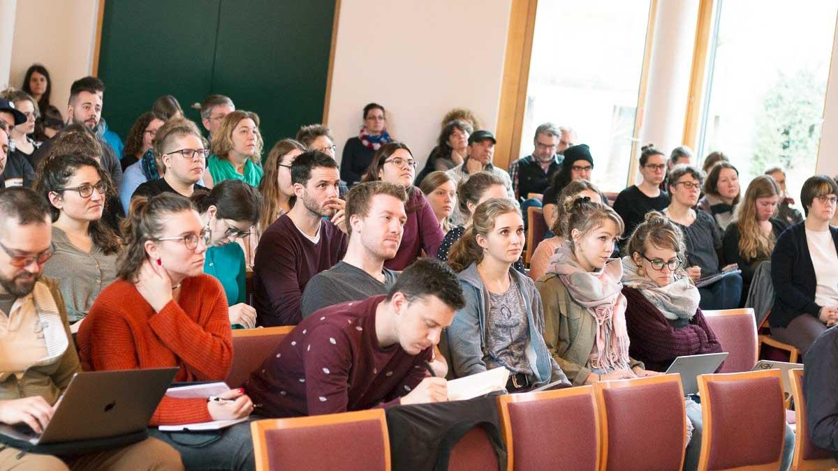 Studierende des TDS Aarau während den Projekttagen 2020