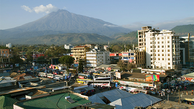 Arusha in Tansania