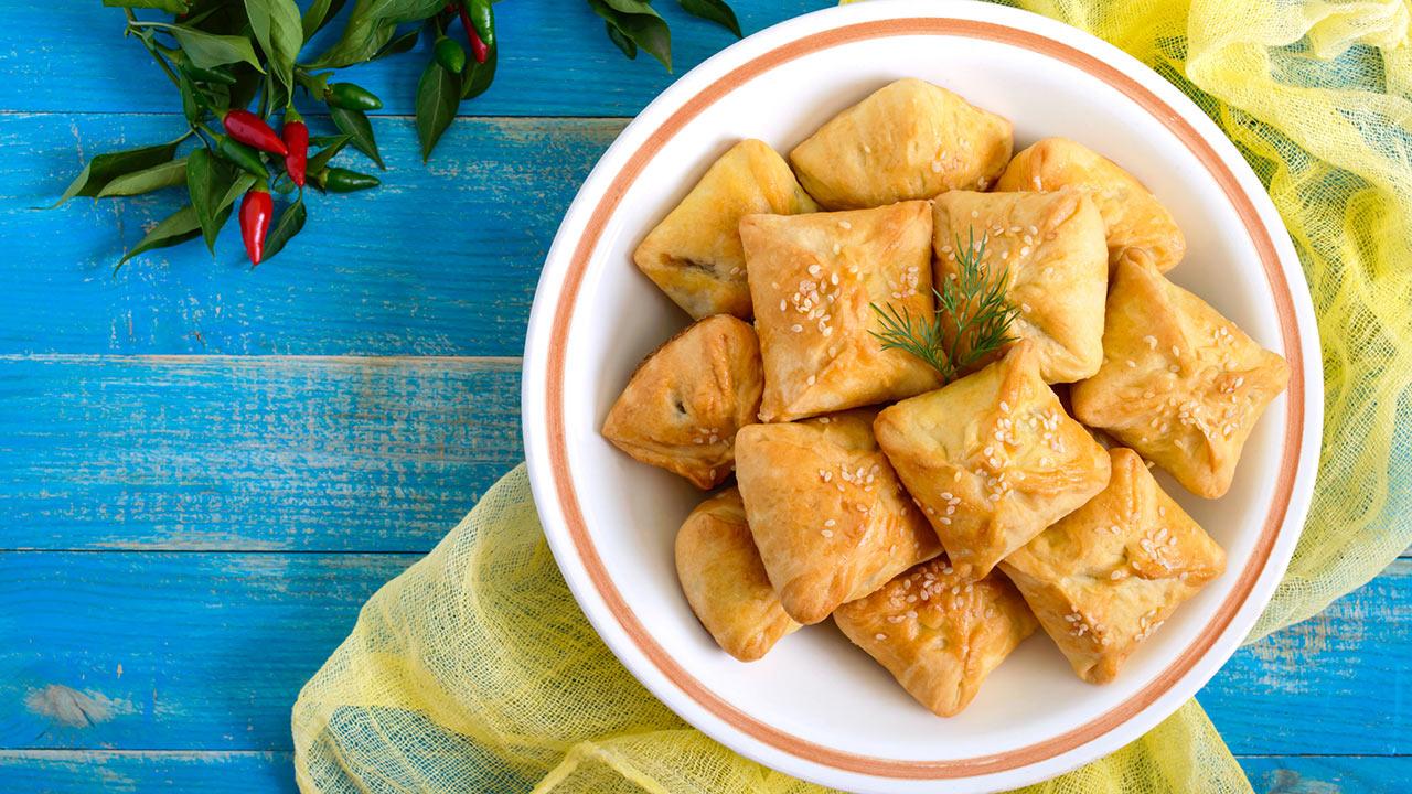 Pikante Teigtaschen - Life Channel Kochtipp
