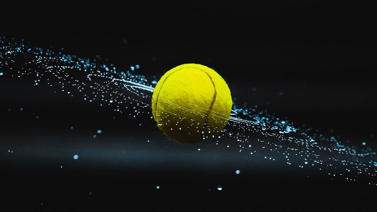 Alle Welt schaut auf Tennis