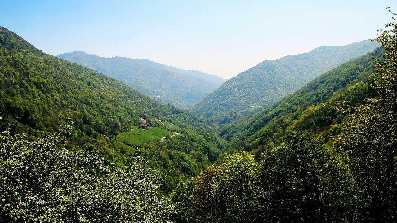 Muggio-Tal im südlichen Tessin