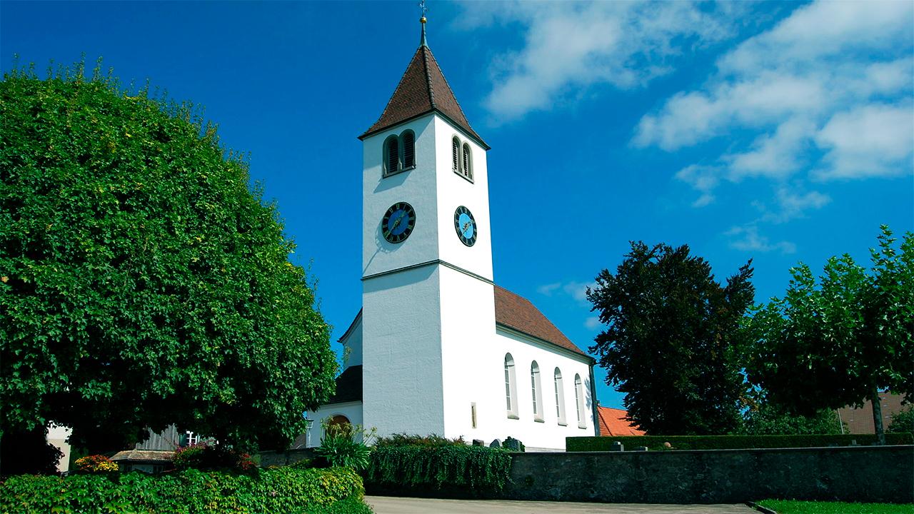 Paritätische Kirche Leutmerken TG: sowohl von Katholiken als auch Reformierten genutzt