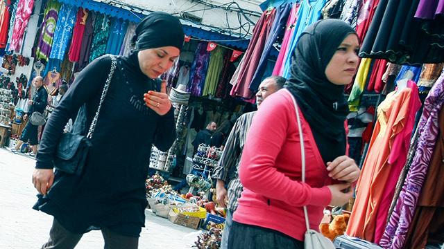 Frauen in Tunis, Tunesien