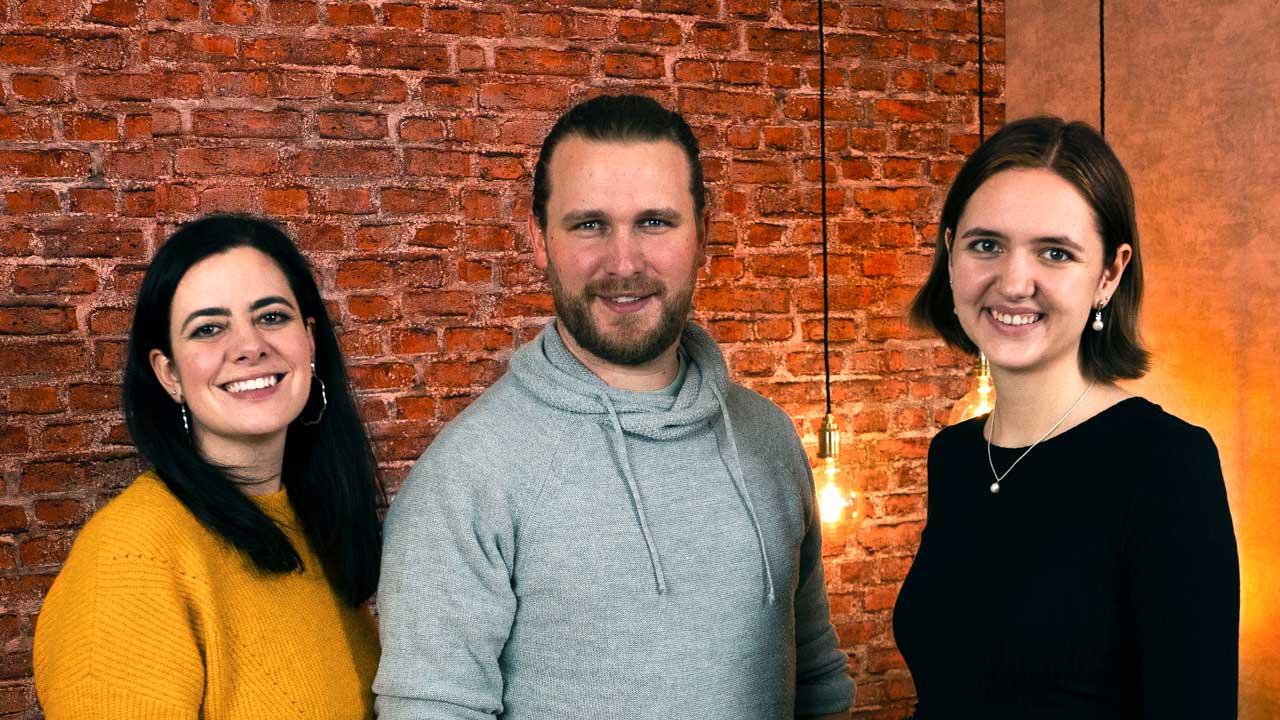 Romina Monferrini, Simon Brechbühler und Jana Hitz vom Videoformat «URBN.K»