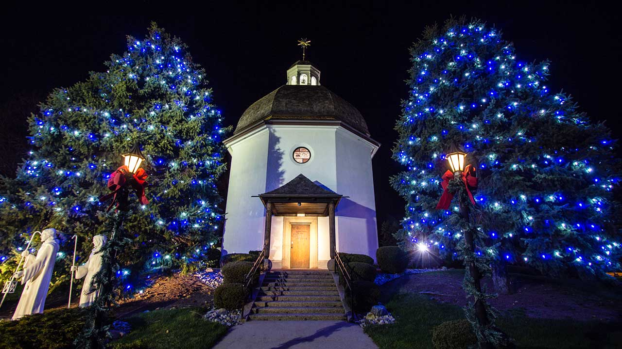 «Silent Night Memorial Chapel» in Frankenmuth, Michigan USA | (c) 123rf