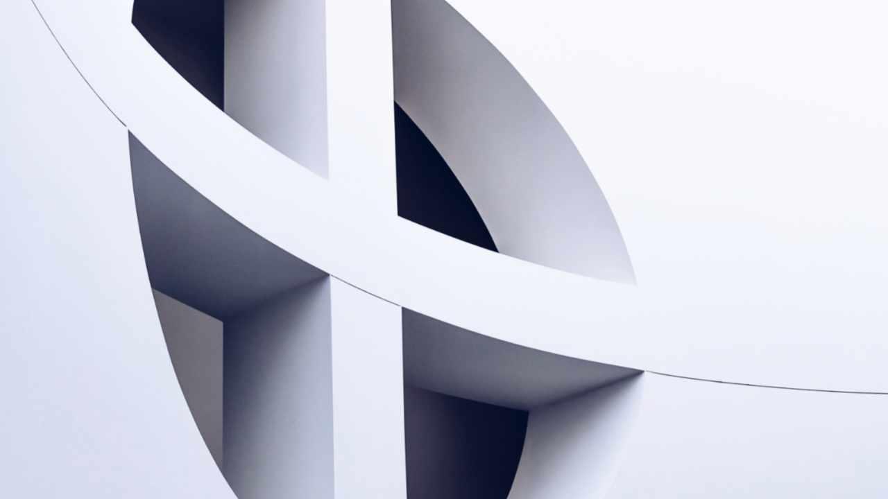 Kreuzfenster im Museum of Modern Art in San Francisco