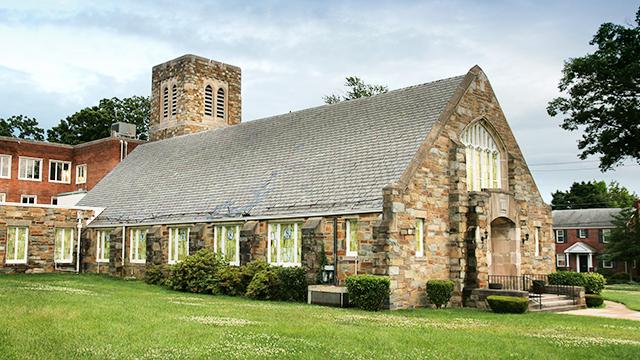 Takoma Park Baptist Church in Washington DC