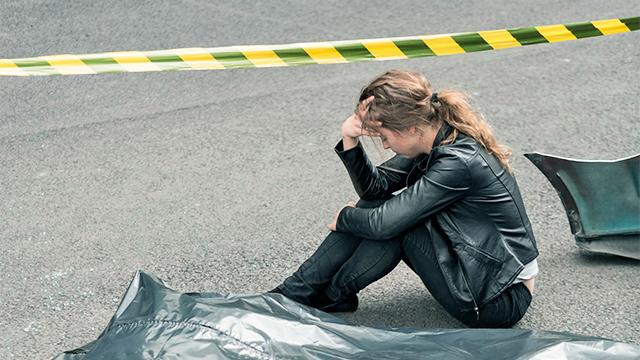 Niedergeschlagene Frau benötigt Betreuung (c) 123rf