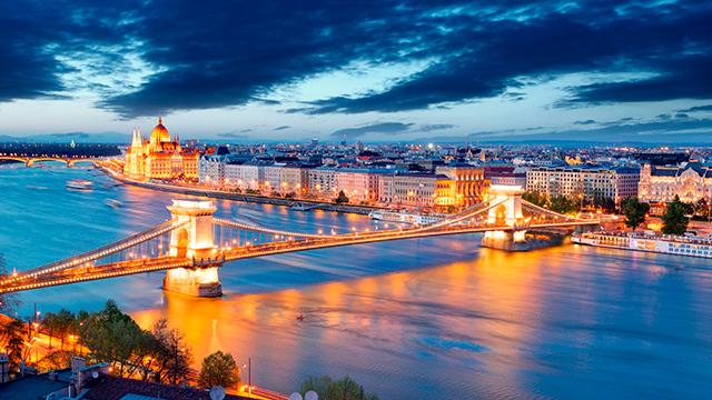 Budapest mit Kettenbrücke